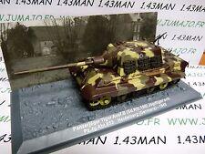 PZ6 Tank militaire 1/72 PANZER n°6 Panzerjäger Tiger SdKfz 186 Allemagne 1945