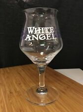 Wicked Weed White Angel Teku Glass Beer Stemware. Rare North Carolina Craft Beer