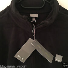 BENCH OAKLANDS HERREN FLEECEJACKE JACKE FLEECE SWEATJACKE JACKET SCHWARZ XXL