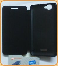 diary flip flap case cover pouch for Micromax Canvas Colors A120