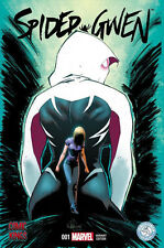 "SPIDER GWEN #1  COMIC KINGS TIDEWATER COMICON ""RECALLED VERSION"" VARIANT"