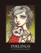 INKLINGS colouring book:adults & children by Tanya Bond [Paperback]