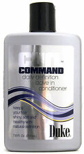 DUKE CURL COMMAND DAILY DEFINITION LEAVE IN CONDITIONER FOR MEN 7.6 FL. OZ.