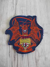 Ronnie James DIO Rainbow Dragon Sacret Heart Vintage RARE Patch