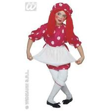 Childrens Rag Doll Fancy Dress Costume Dolly Halloween Outfit 138Cm
