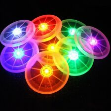 LED Light Up Flying Disk Frisbee Outdoor Colors Toys Pet Supplies Fun New