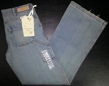 NWT Blue Sz 2 28x31 ABERCROMBIE & FITCH Slouch Flare Distressed Jeans! p2798