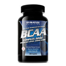 Dymatize Nutrition BCAA Complex 2200, 200 Capsules  WORLDWIDE SHIPPING