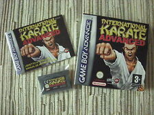 GAMEBOY ADVANCE/NINTENDO DS INTERNATIONAL KARATE ADVANCE USADO BUEN ESTADO
