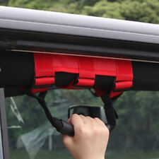 Red Grip Grab Handle Roll Bar 1Pcs Accessories For 1995-2016 Jeep Wrangler #B