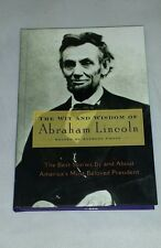 The Wit And Wisdom Of Abraham Lincoln Anthony Gross Hardback Book FREE SHIPPING
