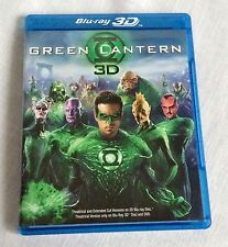 Green Lantern Blu-ray/DVD 2011 3-Disc Set Extended Cut Not Seen in Theaters