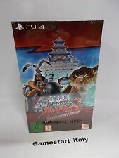 ONE PIECE BURNING BLOOD MARINEFORD COLLECTOR'S EDITION - SONY PS4 - NUOVO NEW