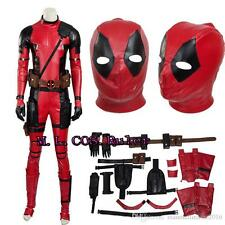 New Style High Quality Deadpool Cosplay Costume Full Suit Cos Accessories Mask