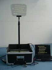 "17""LCD portable presidential speech teleprompter"