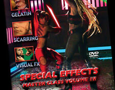 Special FX Master Class Volume 3 DVD Halloween Scarring and Gelatin by Movie FX