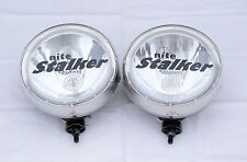 NITE STALKER 225 ROUND 4WD DRIVING SPOT LIGHTS BRAND NEW
