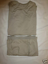 POLARTEC GEN III Level 1 Silkweight Set Shirt Pants Small Short ECWCS