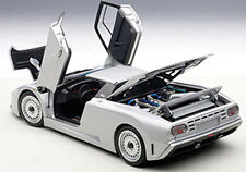 Autoart BUGATTI EB110 GT DARK SILVER Color in 1/18 Scale. New Release! In Stock!