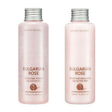 NATURE REPUBLIC Bulgarian Rose Toner,Emulsion Set 155ml/5.24oz