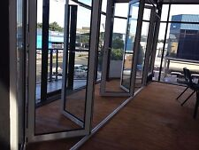 BIFOLD DOOR | ALUMINIUM DOUBLE GLAZED 2360H x 4810W