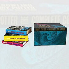Harry Potter Hardback Boxed 7 Books Set Complete Collection J.K Rowling Pack NEW