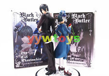 Black Butler Ciel & Sebastian Michaelis Toy Figure Doll Gift New In Box
