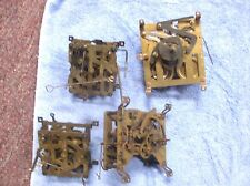 Lot Of Four Cuckoo Clock Works ( Movement) Parts or Repair