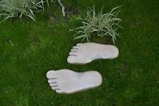 LEFT & RIGHT FOOT PRINT PAVING  CONCRETE STONE MOULD GARDEN PATH