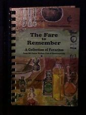 The Fare to Remember, Junior Welfare Club of Hendersonville NC Cookbook