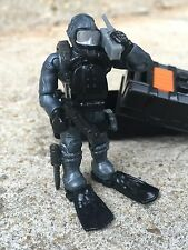 LEGO / Mega Bloks Call of Duty Seal Team Frogman Silver Suit Underwater Diver