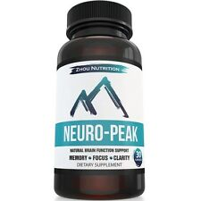 Natural Brain Function Support for Memory Focus & Clarity - Mental Performanc...