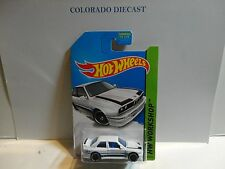 2014 Hot Wheels #195 White '92 BMW M3 w/PR5 Spoke Wheels