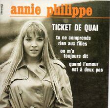 CD Single Annie PHILIPPE Ticket De Quai EP REPLICA 4-track CARD SLEEVE  + RARE +