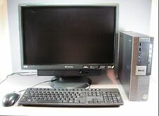 Dell Optiplex 960 Small Form Factor 160GB HDD Core 2 Duo VPro - full set up