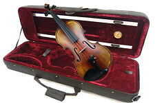 Antique Finish / 4/4 Hand Made & Varnished Violin / Free Bow & Case & Rosin