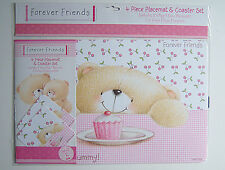 FOREVER FRIENDS PLACEMAT & COASTER SET £4.49