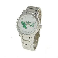 Collegiate Licensed -UNT/ MEAN GREEN Men's Fashion Watch - North Texas