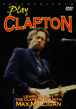 ArtsMagic PLAY BLUES GUITAR THE ERIC CLAPTON WAY Video Lessons DVD Max Milligan