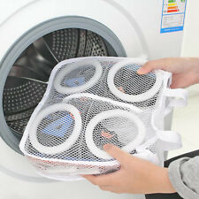 Utility Sneaker Sports Laundry Net Washing Cleaner Hanging Bag Shoes Boot New