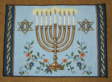 Festival of Lights ~ Hanukkah Menorah ~ Judaism Tapestry Placemat