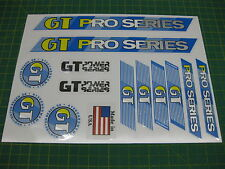 Set of GT Pro Series Stickers BLUE