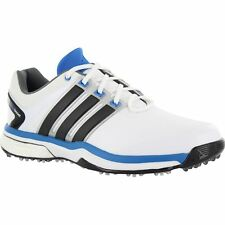 ADIDAS MENS ADIPOWER BOOST GOLF SHOES WHITE Q46923 SIZE 7 MEDIUM