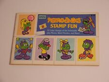 Vtg 1984 Astrosniks Stamp Fun Books Unused by Happy House