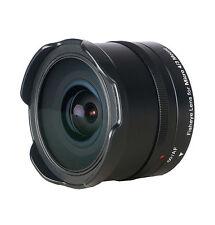 Dörr Fisheye Fischaugenobjektiv 9,3mm F/8,0 MFT Olympus E-PL OM-D Panasonic G