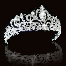 Diadème Strass de Mariage Cristal Mariée Couronne Demoiselle d'honneur Bandeau