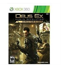Deus Ex Human Revolution Director's Cut Xbox 360 Brand New Factory Sealed