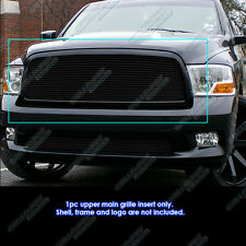 Fits 2009-2012 Dodge Ram 1500 Pickup Black Billet Grille Insert 2008 2009 2010