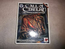 Call of Cthulhu Core Rulebook 5th Ed damaged