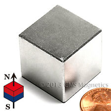 "Neodymium Magnets N50 1"" Cube NdFeB Rare Earth Magnets 1 PC"